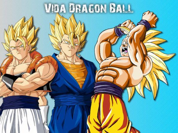 Promocionando Vidadragonball anime manga wallpaper vegito goku vegeta