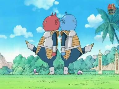 Abo y Kado ova Dragon Ball