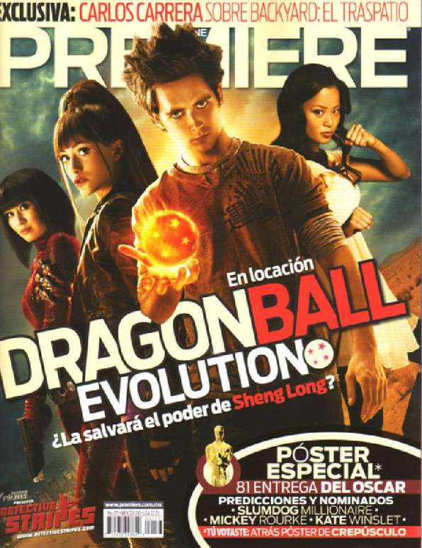 cine dragon ball evolution portada revista mexico