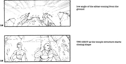 storyboards de Dragon ball evolution