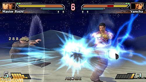 pelea dragon ball evolution videojuego