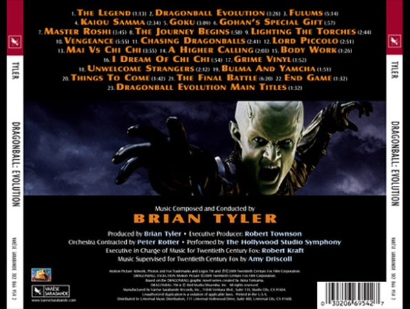 Brian Tyler en la pelicula Dragon Ball Evolution