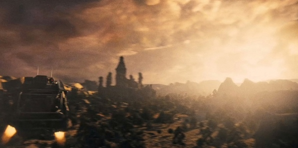 Ciudad en Dragon Ball Evolution