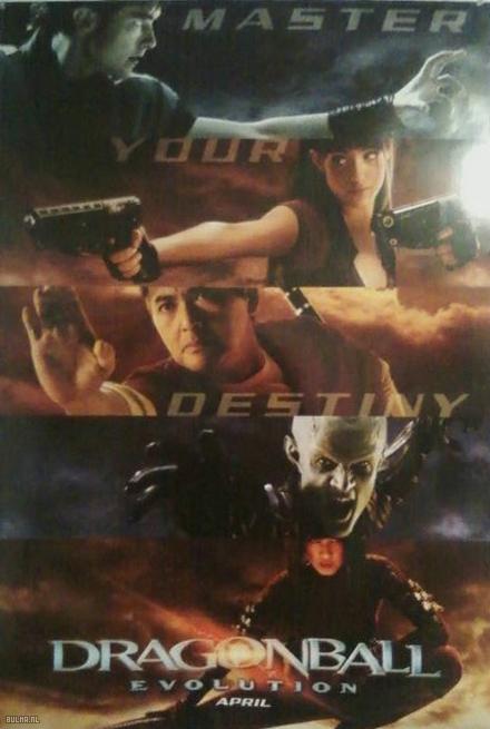 Nuevo Poster de Dragon Ball Evolution