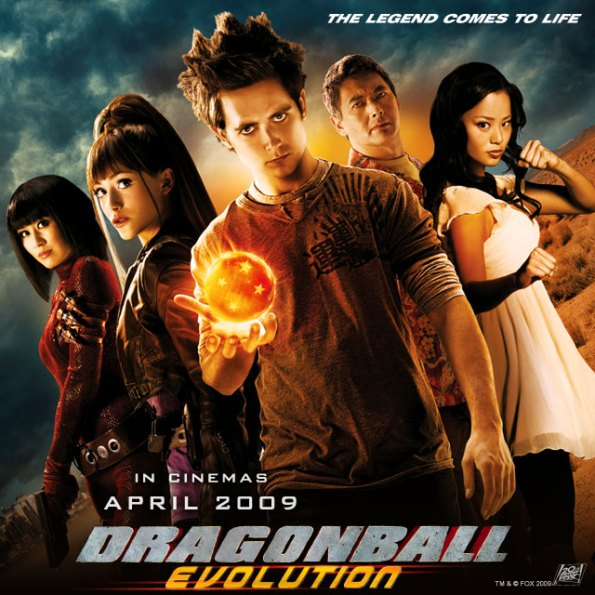 Wallpaper de la pelicula dragon ball evolution